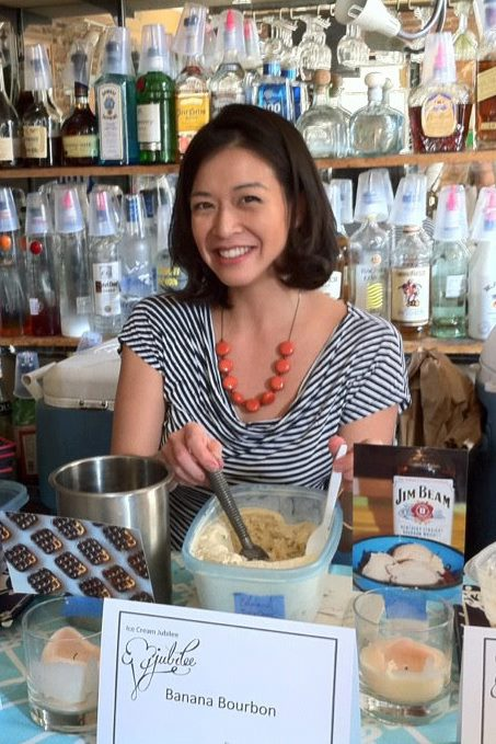 Victoria's first ice cream tasting event in 2012.